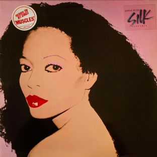 Diana Ross ‎- Silk Electric (LP) (G++/VG-)